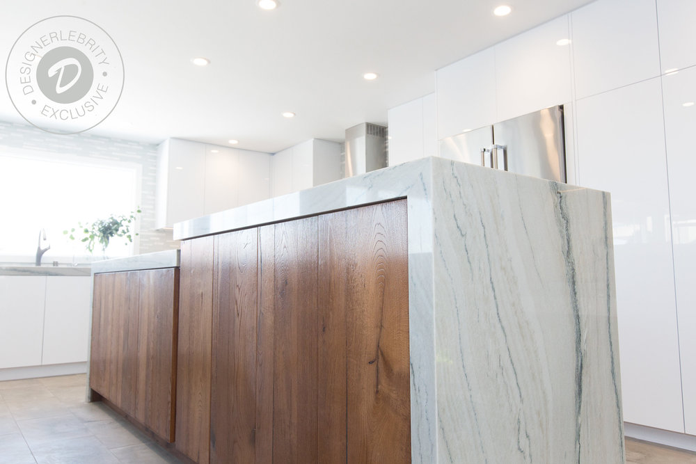 Exclusive Whats An Island Without A Waterfall See The Kitchen