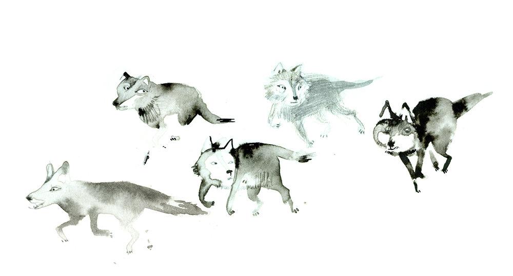 """Fragmento del cartel para la campaña de Greenpeace """"#Lo que pasa en el Ártico, no se queda en el Ártico""""."""