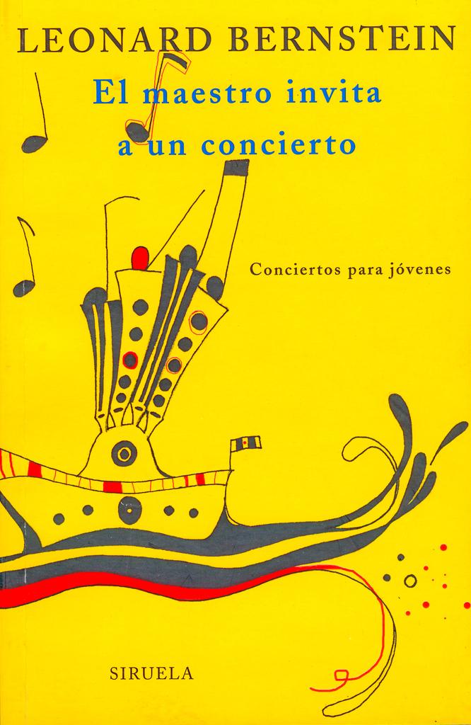 """Ilustración del libro de Leonard Bernstein. """"El maestro invita a un concierto"""", Ediciones Siruela."""