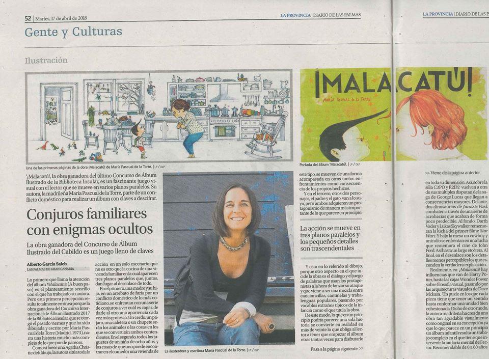 La Provincia#Diario de Las Palmas # Malacatú
