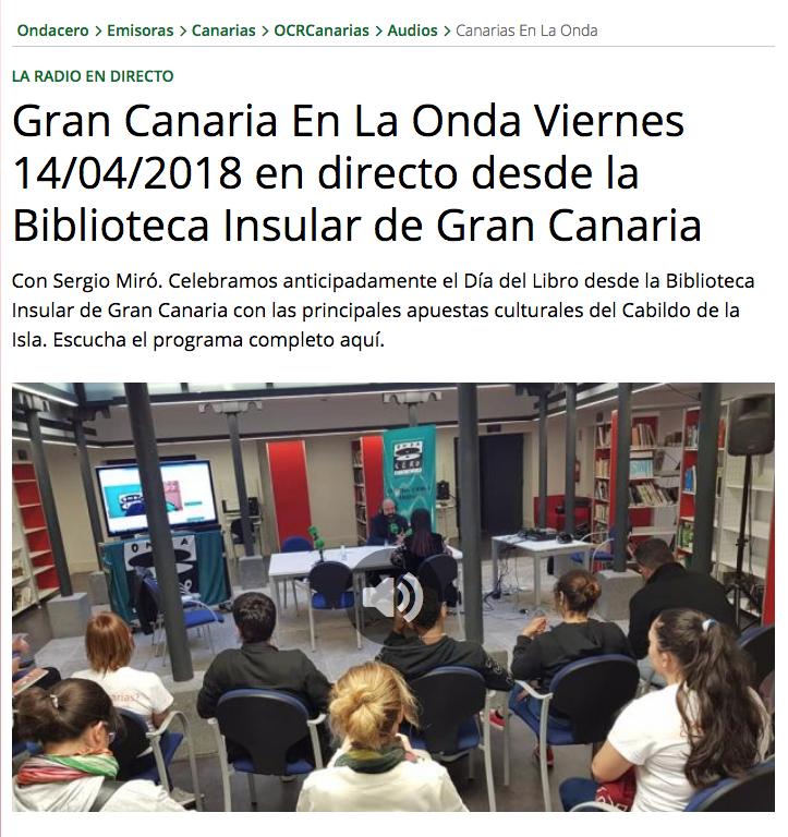 OndaCero_GranCanaria_Malacatu