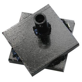 Flue tile breaking head.