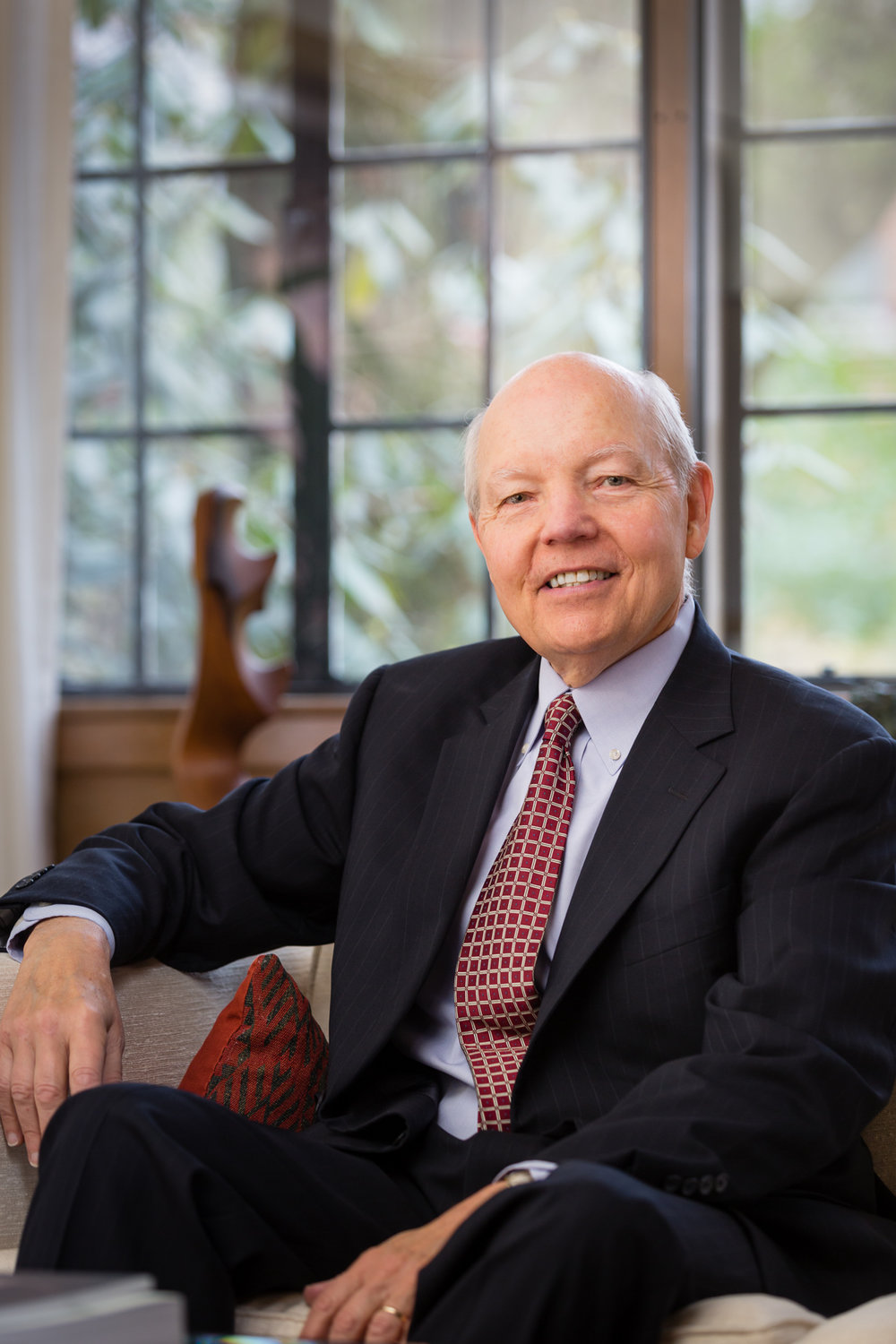 Commissioner of the IRS, John Koskinen, in his home in Washington, DC