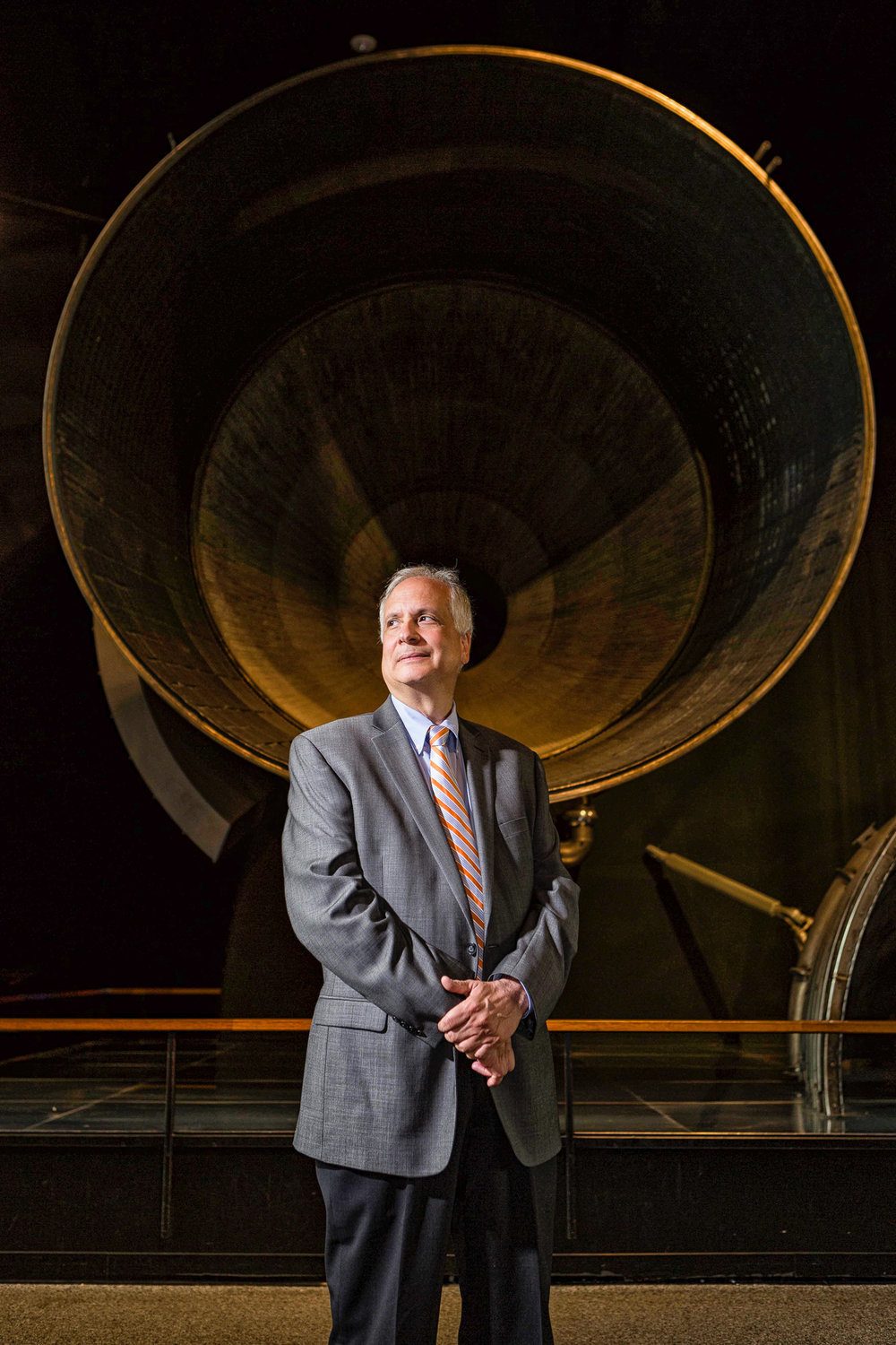 Ed Hoffman, Chief Knowledge Officer, NASA. Made at the Smithsonian Air & Space museum in Washington, DC