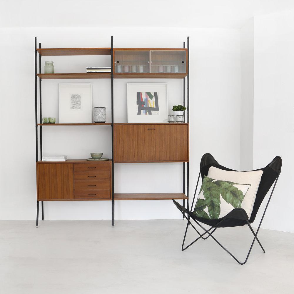Vintage wandkast - Cadovius - Van Teeffelen - Nome Furniture Antwerpen - Retro - vintage - jaren 60 - jaren 70 - Furnified SF4.jpg