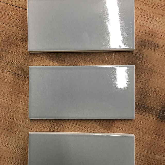 Blue frost gloss, Old world blue frost, Matte grey green 😍 #tileaddiction #luxury #luxurytile #tile #luxuryhomes #luxurylifestyle #starbucks #interiordesign #interiordesigner #kitchendesign #kitchendetails #luxuryarchitechture #bathroomdesign #creative #art #homeimprovement #homedecor #homedesign #handcrafted #handmade