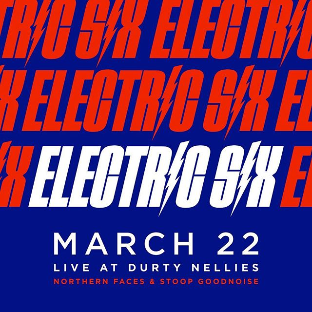 @stoopgoodnoise back at it opening for one of our favorite bands, @electricsix1 ! See you in Palatine.