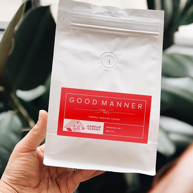 @stoopgoodnoise and @goodmannercoffee  teamed up for a very special limited edition roast for our record release! . . Grab a bag at our merch table at Belapalooza February 8th to snag one! . Check out their page and their new shop in Chicago.