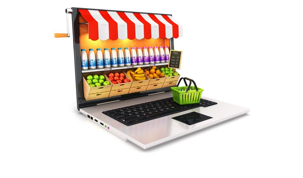 online supermarkten -