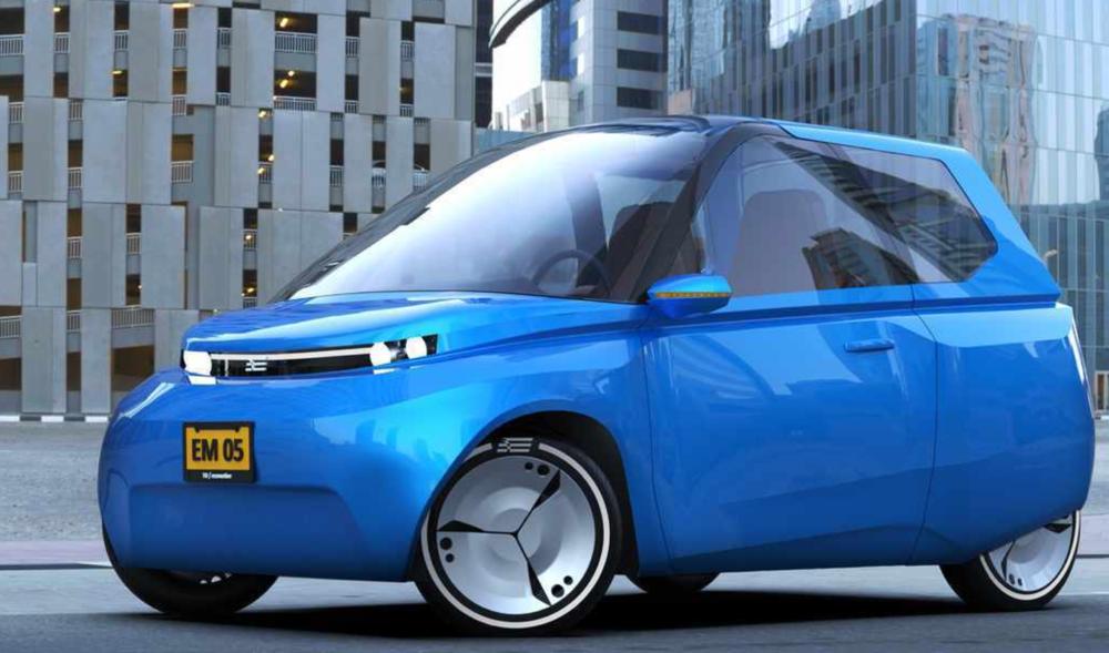De eerste circulaire auto - Een team uit Eindhoven werkt eraan.