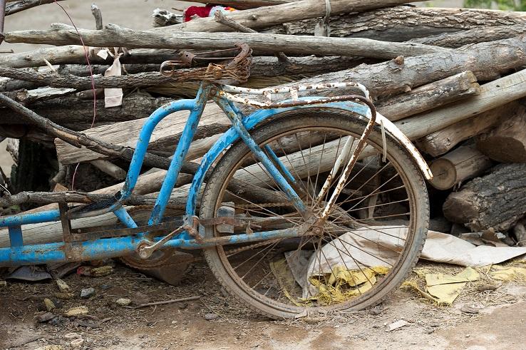 Dit is een tweedehands fiets dus NIET