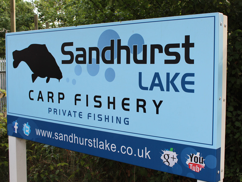 Sandhurst continues to capture my imagination – a truly top-class fishery.