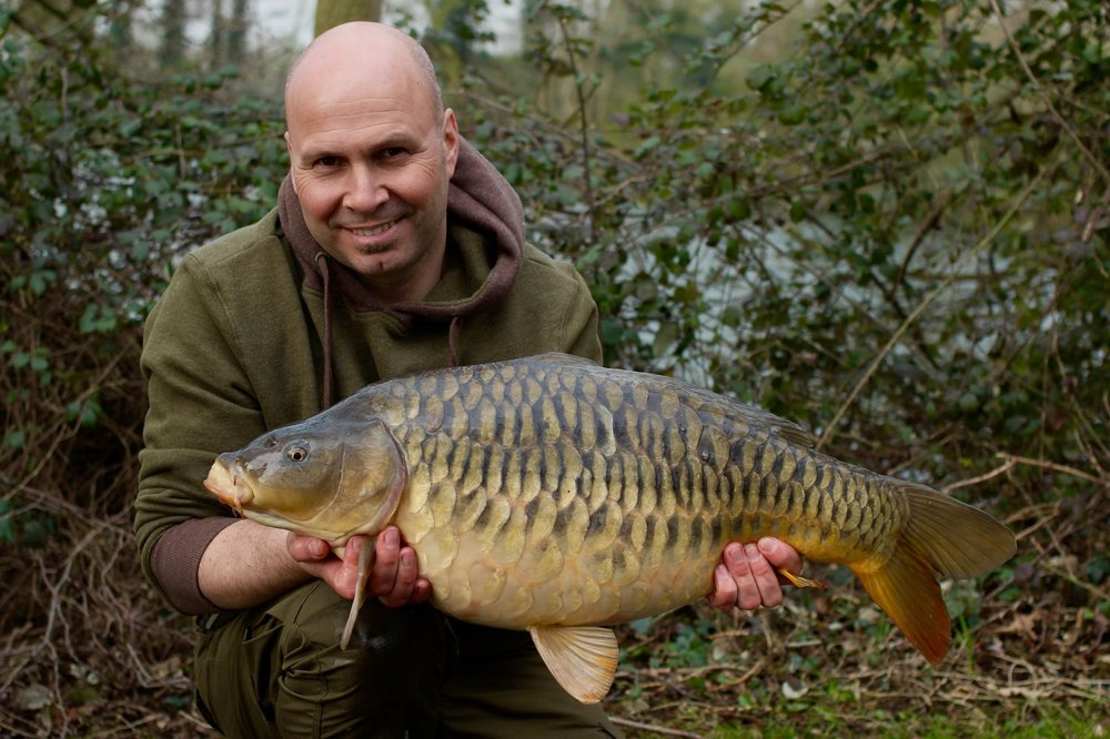 My first Horton carp – what a stunner.