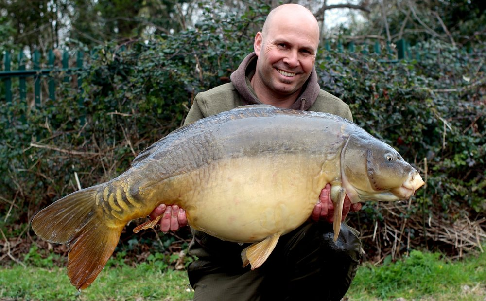 Like buses – 44lb – not bad for a day session.
