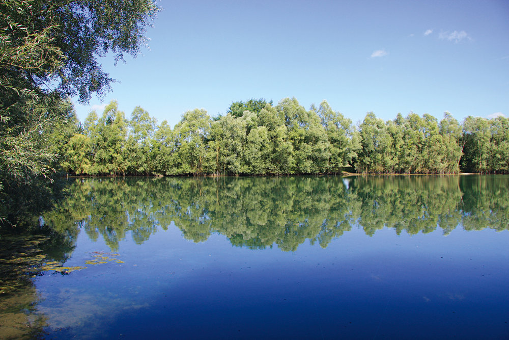 Pascale's lake.