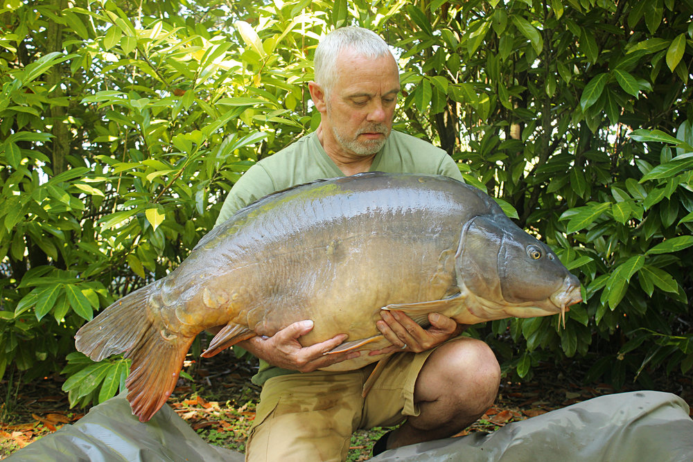 Col and his midday carp of 69lb 2oz.