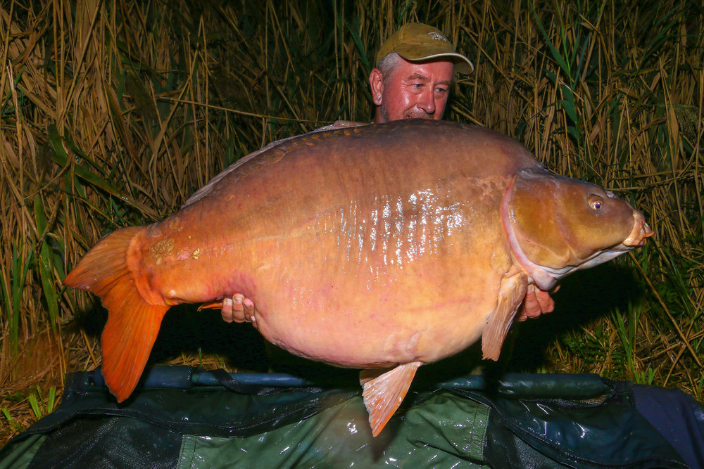 The first bite and a 72lb 8oz mirror – a great way to get off the mark.