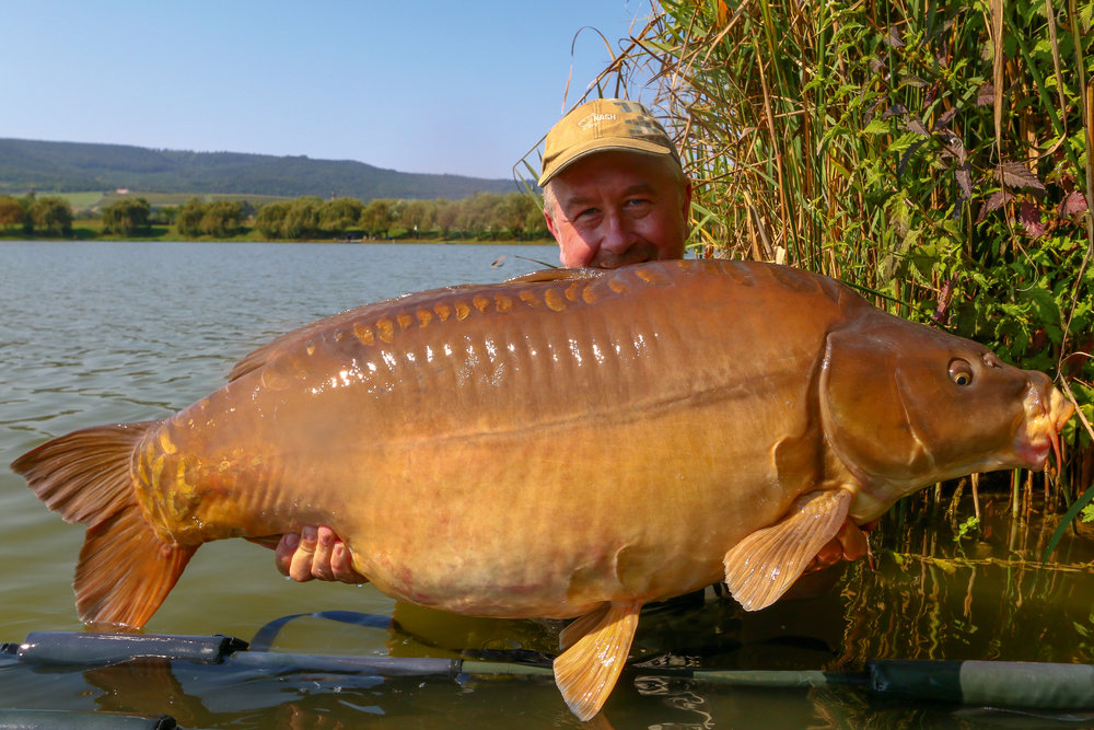 A 65lb mirror which gave me an epic scrap during the hottest part of the day.