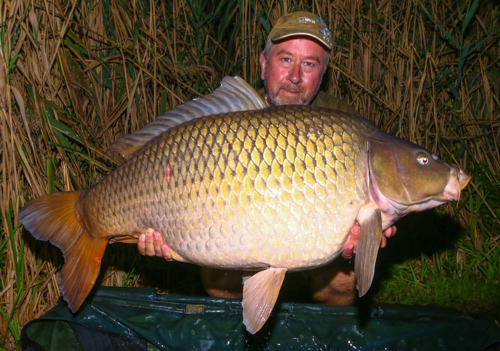 This 58lb 8oz common was part of a hectic final night of action.