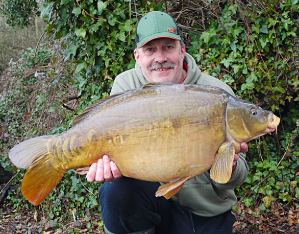 A December 28lb mirror at the start of a winter campaign was all the confidence I needed.