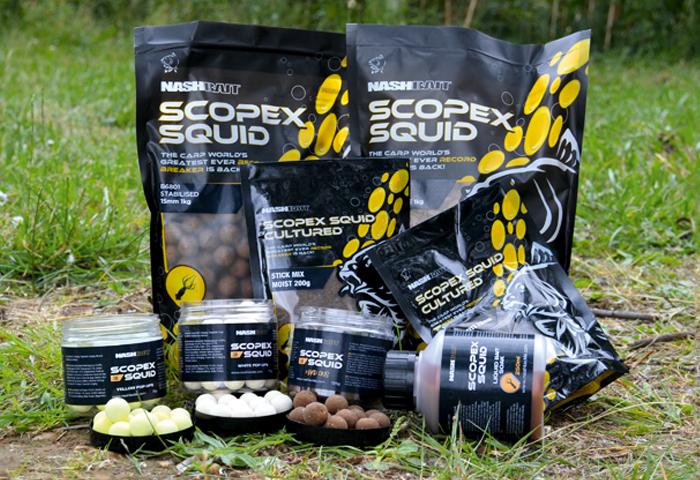 Scopex Squid | Nash Bait — Carpworld