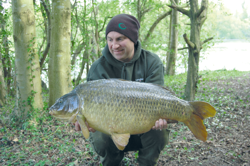 An almost perfect Colne Valley common of 30lb 1oz.