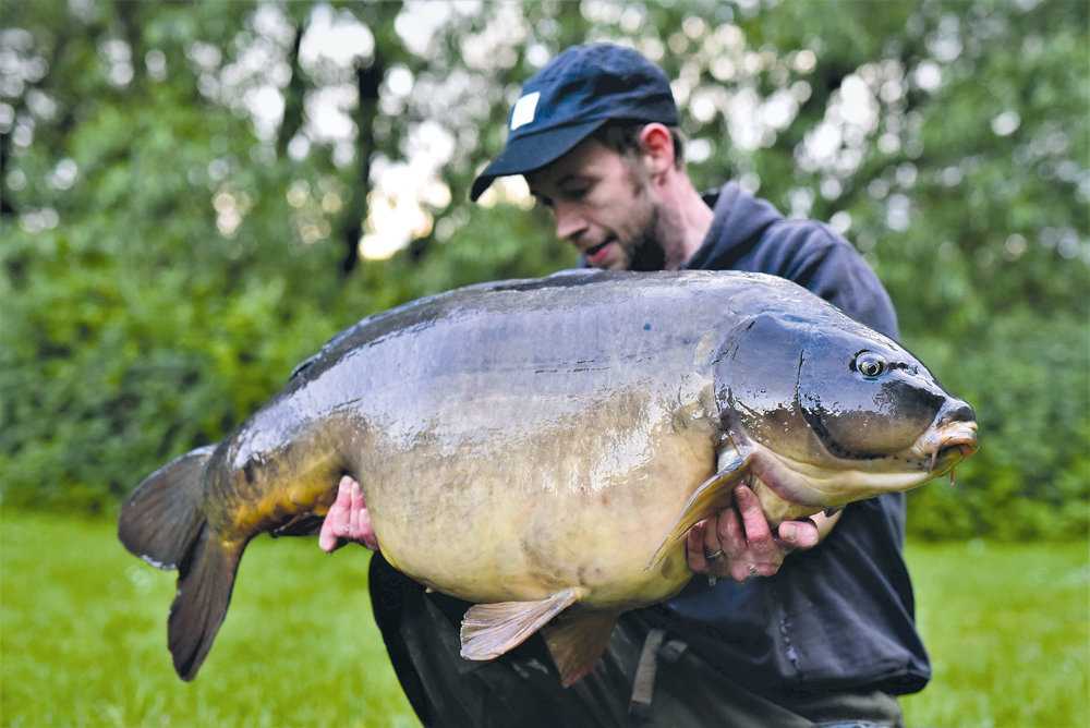 Fingers came in at 51lb 8oz - the dream achieved