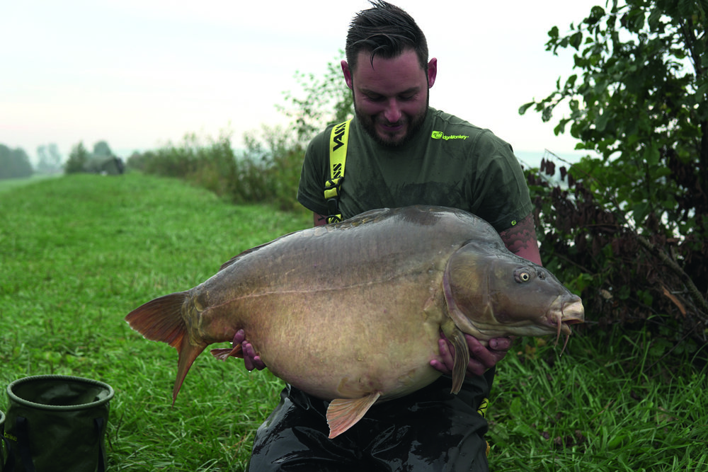 Dan's 66lb, he was the first UK angler to have a 60 from this lake.