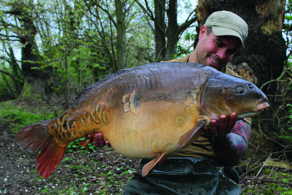A fish called Matt's at 39lb 14oz, it was nice to have new fish.