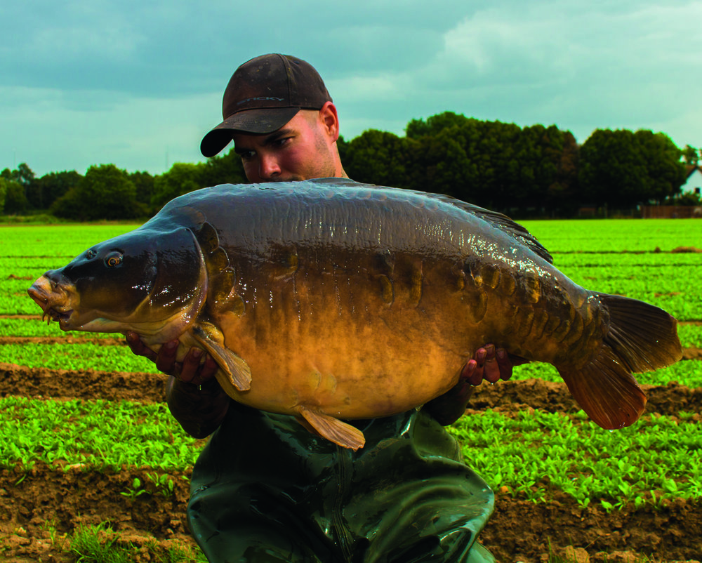 The one he wanted most, Georges at 47lb 2oz.