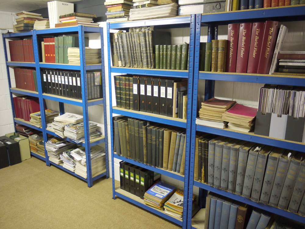 A small section of the library