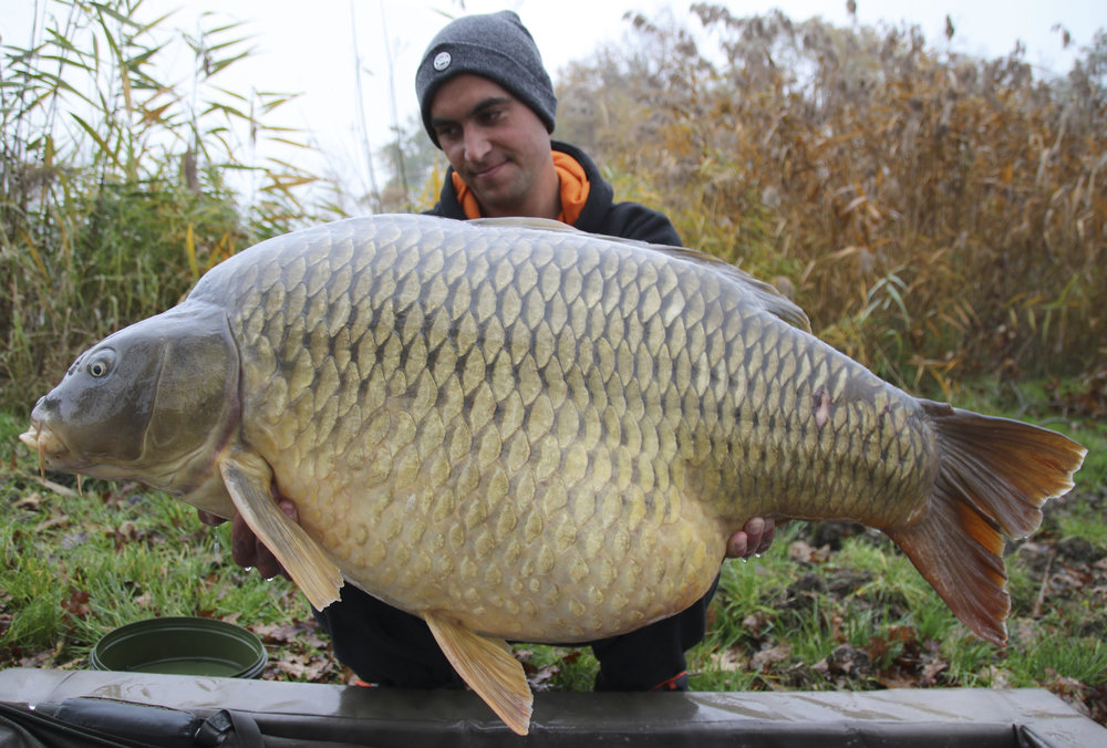 The 32.2kg (71lb) common and my 6th country.