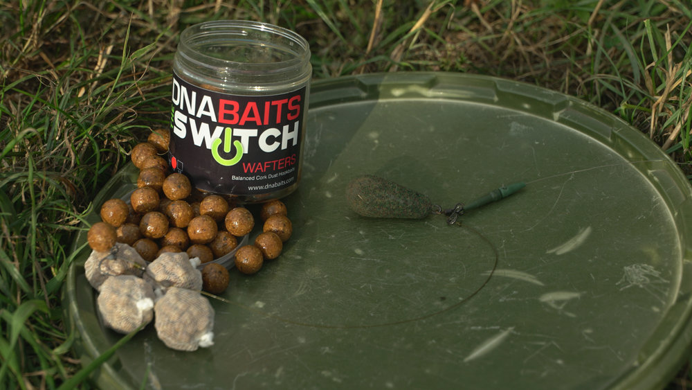 My standard wafter rig with glazed Switch hookbaits