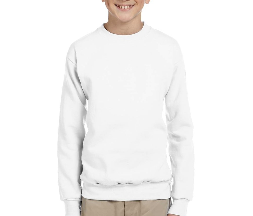 Hanes Kids Crew Sweatshirt