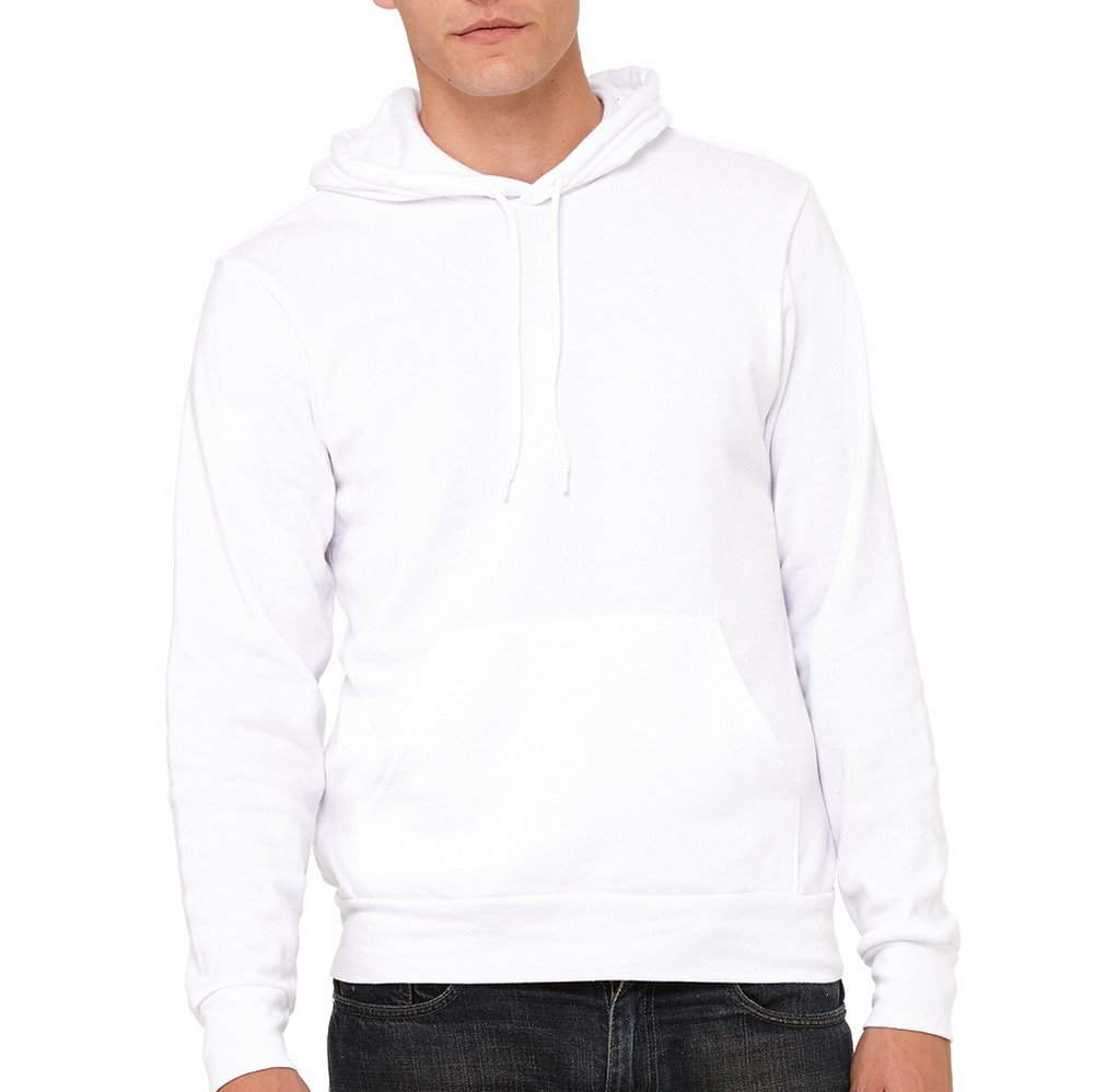 Bella + Canvas Unisex Poly-Cotton Hoodie