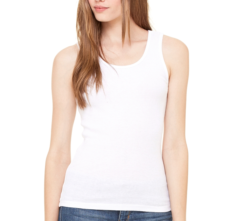 Bella + Canvas Women's Rib Tank