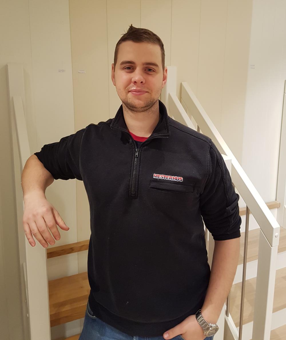 Jon Randen, ingeniør/designar i Tømrer Service AS