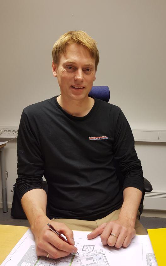 Henning Heltne, dagleg leiar i Tømrer Service AS