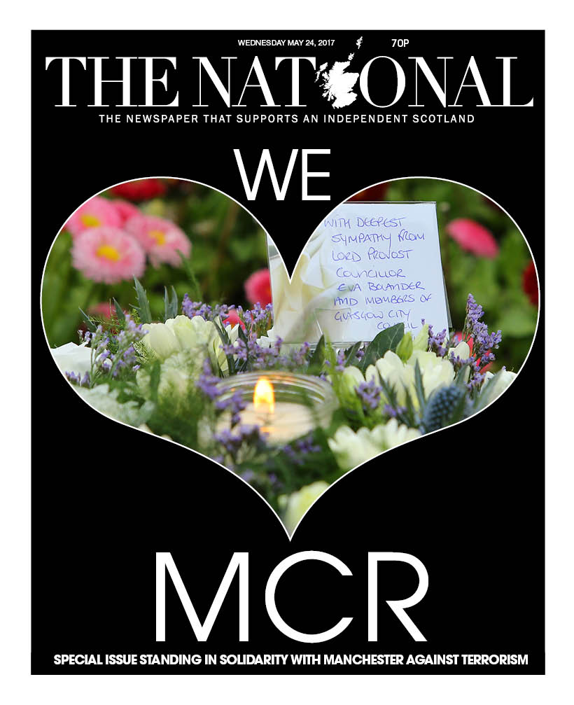 In The National yesterday I wrote about the aftermath of the atrocity in Manchester from a parent's perspective.