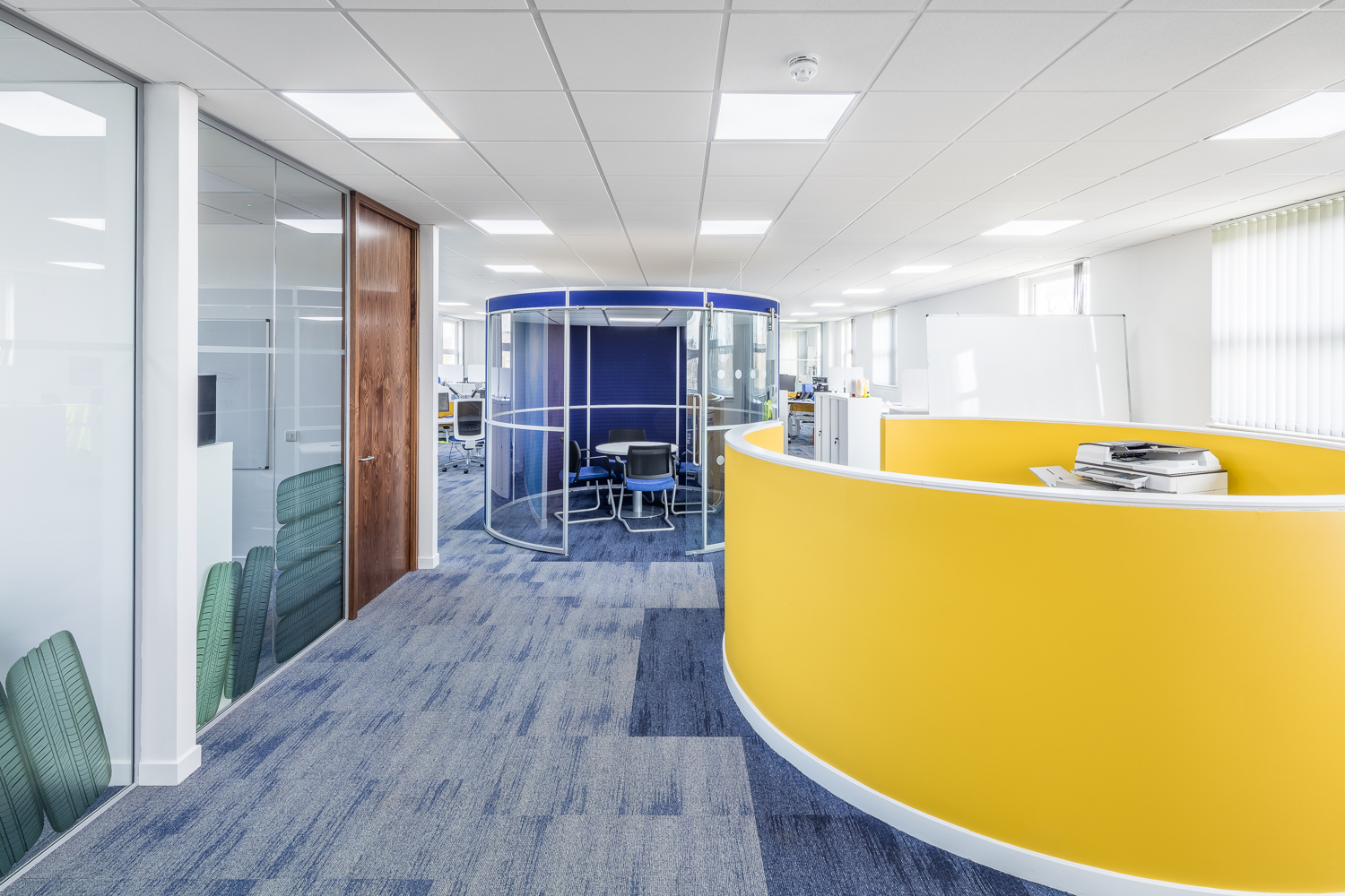 Office Refurbishment And Fit Out Dundee