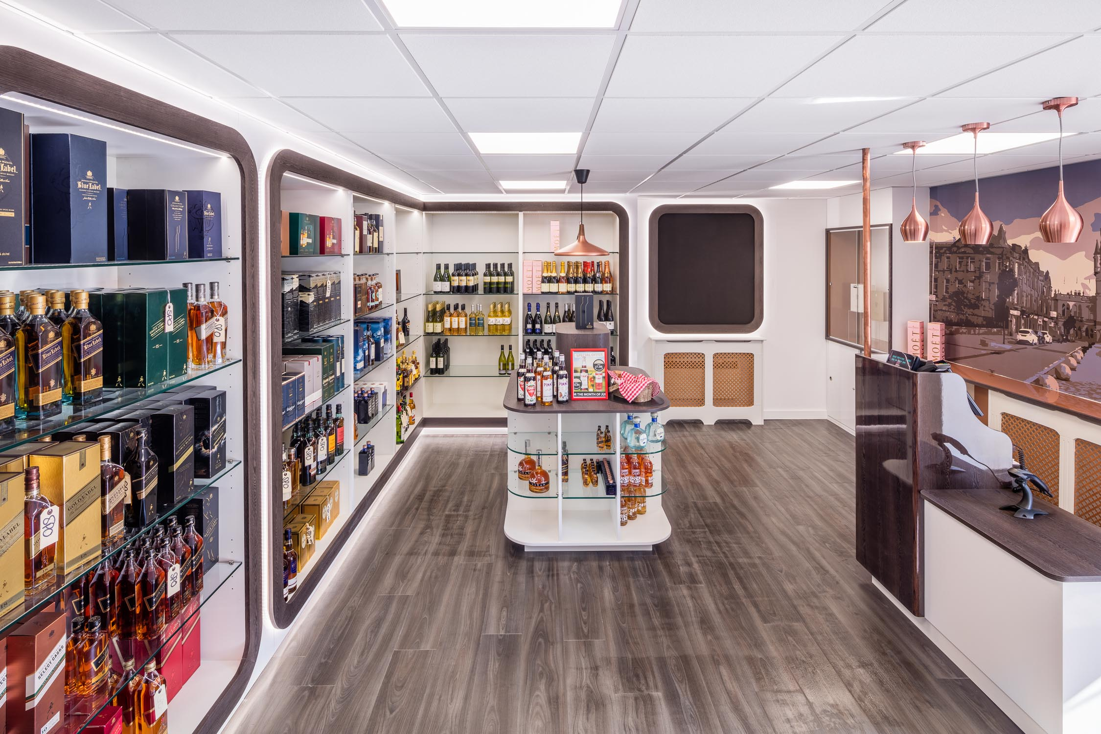 Interior Design And Fit Out Staff Shop Diageo Blythswood, Renfrew