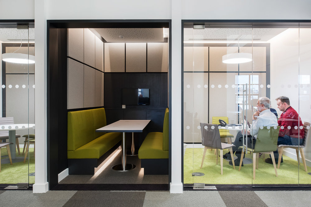 Activity based workplace design at  Orchard Newcastle