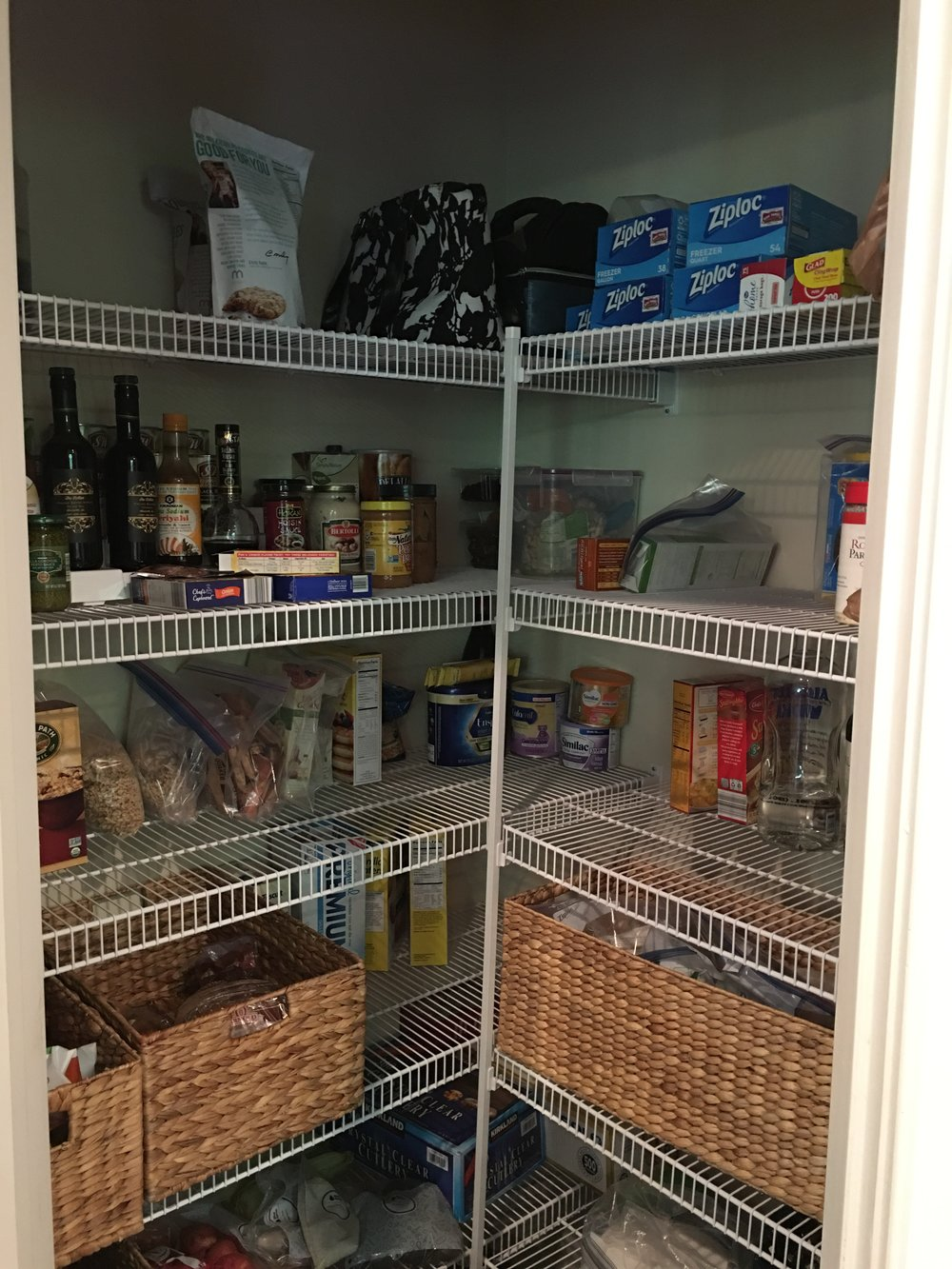 Using The Cabinets And Pantry To Their Best Use For Such A Large Amount Of  Items Was Going To Be Challenging, But We Were Ready To Work Our Magic.