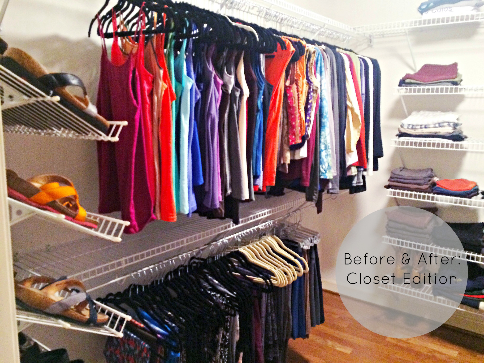 organized simplicity client spaces his hers closet