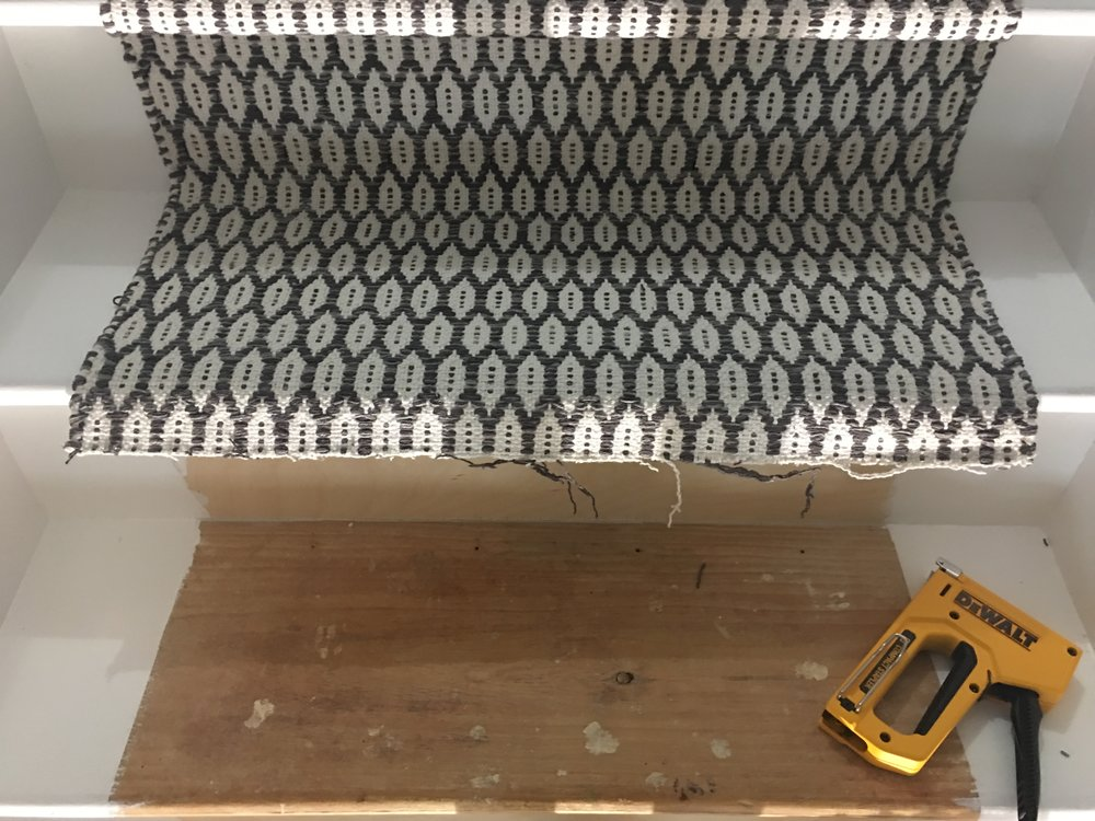 organized simplicity diy stair runner