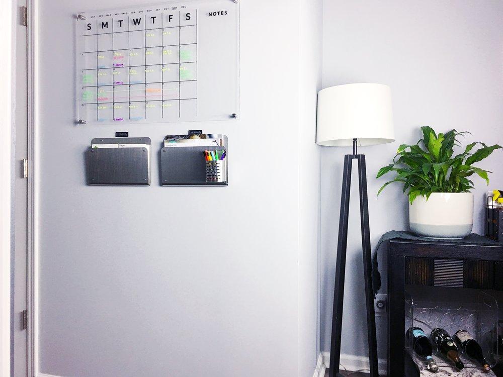 organized simplicity calendar organize
