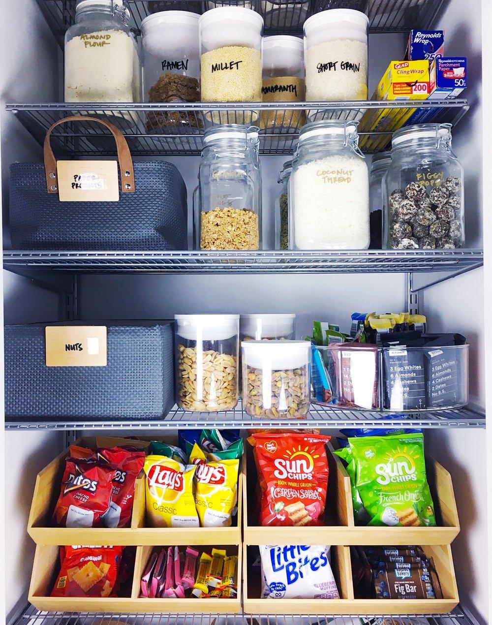 pantry organizing labels