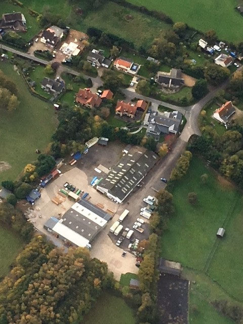 The Zedbox Showroom and Factory Site near Bury St Edmunds