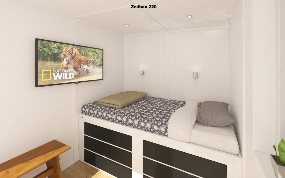 Zedbox 220 Interior