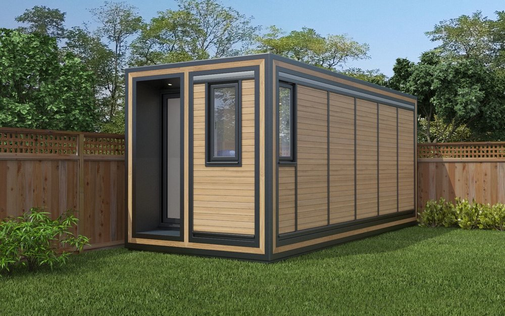 ZEDBOX 255  (2 x 5.5)  Internal Size: 2117x 5888  External Size: 2587 x 6358  Bed Options: Single or Double  Kitchen Options: Micro Kitchen  Wet Room Options: Yes  Portico: Yes  Price:  £24,000    Optional Extras    Request Zedbox Catalogue